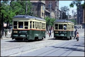 Njemački (Austrougarski) tramvaji s početka prošlog stoljeća.