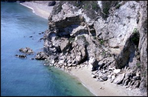 Puste čiste plaže
