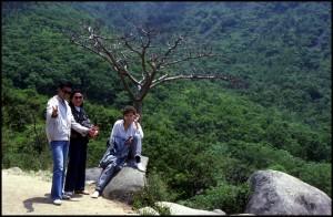 Mladenka, kćerka i sin profesorice Diao Chuanfang