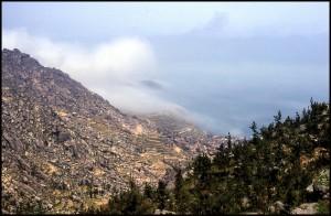 Smog koji se širi oko grada Yantaia