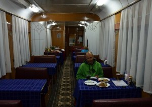 Slika 4. Restoran u vlaku
