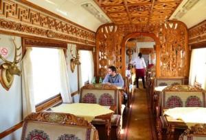 Slika 8. Restoran u mongolskom vlaku