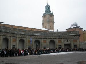 Smjena straže ispred Kraljevske palače