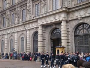 Smjena straže ispred Kraljevske palače 1