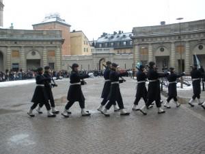 Smjena straže ispred Kraljevske palače 4