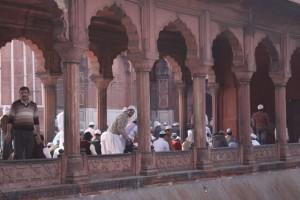 Molitva u džamiji