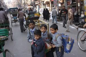 Muslimanska četvrt u Delhiju