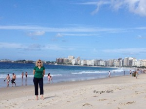 Copacabana plaža