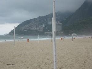 Favela pogled s Ipaneme