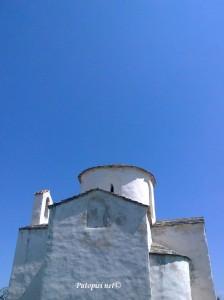 Pogled na crkvu odozdo