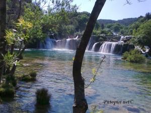 Najljepši vodopad Krke 3