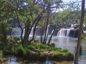 Najljepsi vodopad Krke