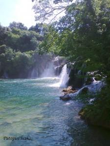 Vodopadi na Krki