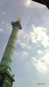 Colone Juillet da la Place de la Bastille