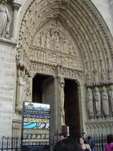 Notre Dame - portal 3