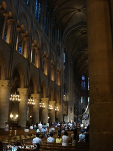 Notre Dame - unutrašnjost
