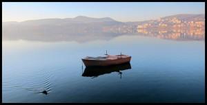 Barke na jezeru Orestiada 2