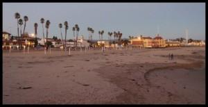 Plaža pred sumrak