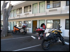 Parking pred motelom 2