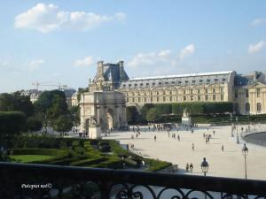 Louvre dvorište