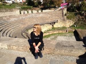 Antički amfiteatar u Ohridu