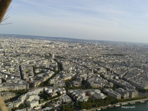 Eiffel - pogled s vrha