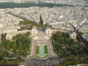Trocadero sa Eiffel-a