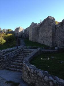 Zidine tvrđave cara Samuila u Ohridu