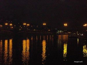Čehov most noću