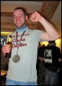 Medalja na prsima