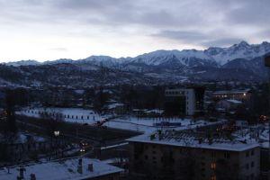 Pogled s mog prozora - Almaty
