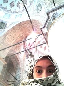 Moja slika u Plavoj Džamiji