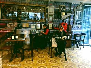 Istambulska slićica u slastičarnici