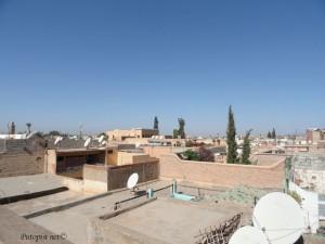 Pogled sa terace naše kuće