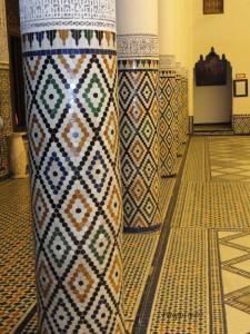Stupovi iz muzeja grada Marrakecha
