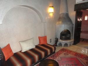 Prostor za sjedanje u sobi