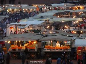 Glavni gradski trg Place Jemaa el Fina