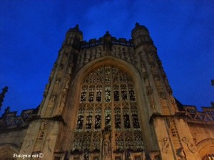 Bath - gotička crkva malog masonskog grada