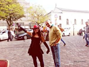 Druženje sa Sarajlijama slikarima na Montmartreu