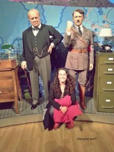 U poznatom društvu u Madamme Taussauds - Hitler i Churcill