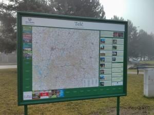 Telč - karta grada
