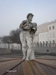 Silenus i Dionizije- fontana