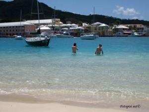 St. Croix- Caribbean blue