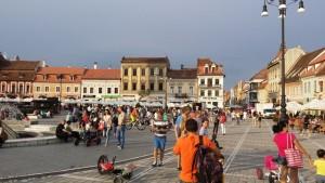 Brašov - centralni trg
