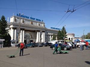 Glavni kolodvor u Almaty