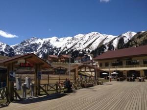 Skijalište Čimbulak ljeti