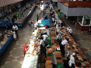Tržnica u Almaty