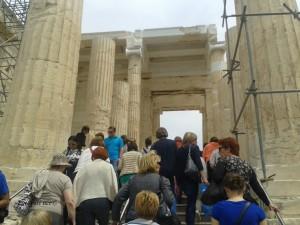 Monumentalni ulaz u svetište -Propileji