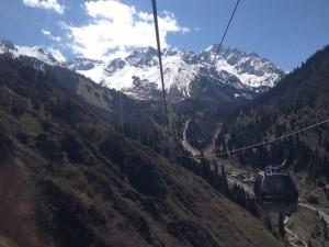 Žičara na 2600m , 15 minuta od Almate