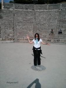 Epidaur - središnja točka